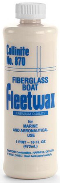 Collinite 870 Fleetwax Liquid Cleaner Wax 16 oz