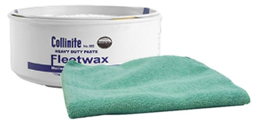 Collinite 885 Fleetwax Paste Wax & Microfiber Towel Kit