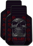 Day Of The Dead Rubber Floor Mats (Pair)