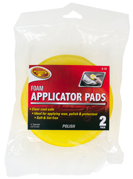 Detailers Choice Foam Applicator Pads Pair