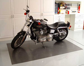 Diamond Deck Rollout Flooring Motorcycle Mat