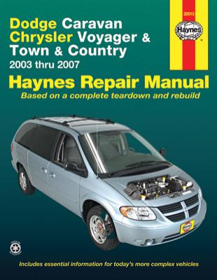 Dodge Caravan Chrysler Voyager Amp Town And Country Haynes