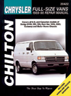 Dodge & Plymouth Vans Chilton Manual (1989-1998)