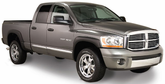 Dodge Ram Bushwacker Extend-A-Fender Flare Kit (2002-2009)