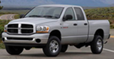Dodge Ram 2500 Lund Elite Rivet Style Fender Flares (2003-2009)