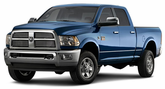 Dodge Ram 2500 Lund Elite Rivet Style Fender Flares (2010-2014)