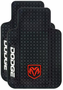 Dodge Ram Logo Rubber Truck Floor Mats (Pair)