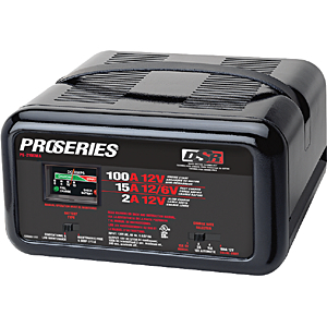 DSR 100/15/2 Amp Fully Automatic/Manual Battery Charger & Engine Starter
