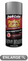 duplicolor 39 s universal silver metallic auto touch up spray. Black Bedroom Furniture Sets. Home Design Ideas