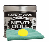 Eagle One Never-Dull Wadding Metal Polish (5 oz.), Microfiber Cloth & Foam Pad Kit