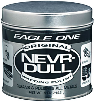 Eagle One Never-Dull Wadding Metal Polish 5 oz.