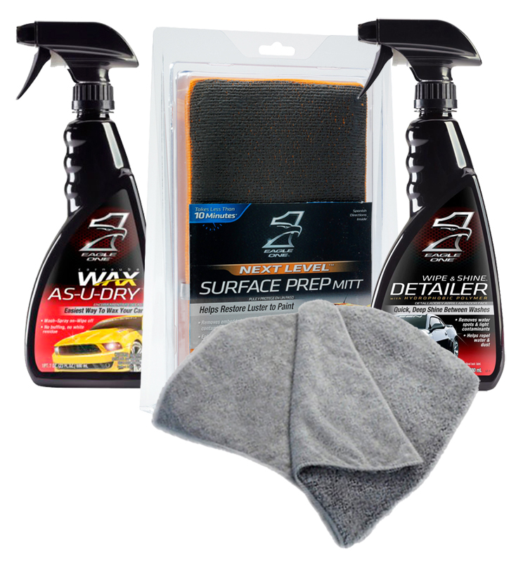 Eagle One Surface Prep & Wax Kit