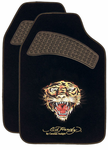 Ed Hardy� Tiger Carpet Floor Mats (Pair)