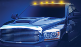 Eurolite Dodge Ram LED Cab Roof Lights (2003-2011)