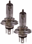 Evo Vistas H4 White Headlight Halogen Bulb (Pair)