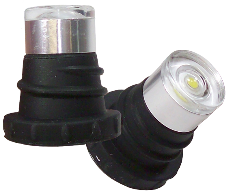 Click here for EVO White LED Strobe Headlight Bulbs Pair prices