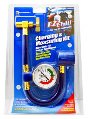 EZ Chill R-134a Charging & Measuring Kit