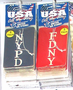 FDNY & NYPD Air Fresheners (3 Pack)