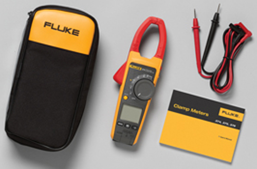 Fluke True-RMS AC/DC Clamp Meter