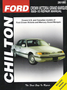 Ford Crown Victoria & Mercury Grand Marquis Chilton Repair Manual (1989-2010)