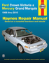 Ford Crown Victoria & Mercury Grand Marquis Haynes Repair Manual (1988-2010)