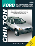 Ford Escape & Mazda Tribute Chilton Repair Manual (2001-2011)