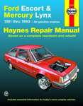Ford Escort & Mercury Lynx Haynes Repair Manual (1981-1990)