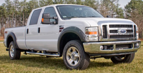 Ford F250 F350 & F450 SuperDuty Rugged Ridge All Terrain Pocket Style Fender Flares 2008-2011