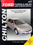 Ford Fusion & Mercury Milan Chilton Repair Manual (2006-2010)