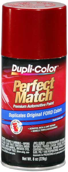 Ford Lincoln & Mazda Toreador Red Auto Spray Paint - FL 1996-2014