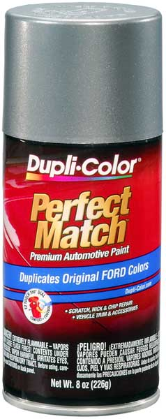 Ford/Lincoln Metallic Medium Charcoal Auto Spray Paint - 1B 1983-1986