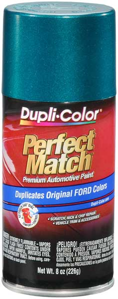 Ford/Lincoln Pacific Green Auto Spray Paint - PS 1996-1998