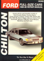 Ford & Mercury Full-size Cars Chilton Manual (1968-1988)