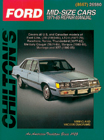 Ford/Mercury Mid-size Cars (1971-85) Chilton Manual