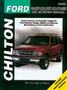 Ford Ranger/Explorer & Mercury Mountaineer (1991-99) Chilton Manual