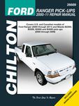 Ford Ranger/Mazda Pick-Ups Chilton Repair Manual (2000-2011)