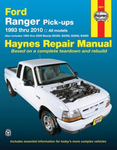 Ford Ranger & Mazda Pick-ups Haynes Repair Manual (1993-2010)
