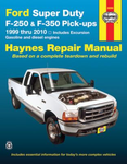 Ford Super Duty Pick-up & Excursion Haynes Repair Manual (1999-2010)