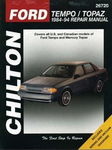 Ford Tempo & Mercury Topaz Chilton Manual (1984-1994)