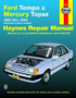Ford Tempo & Mercury Topaz Haynes Repair Manual (1984 - 1994)