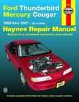 Ford Thunderbird & Mercury Cougar Haynes Repair Manual (1989-1997)