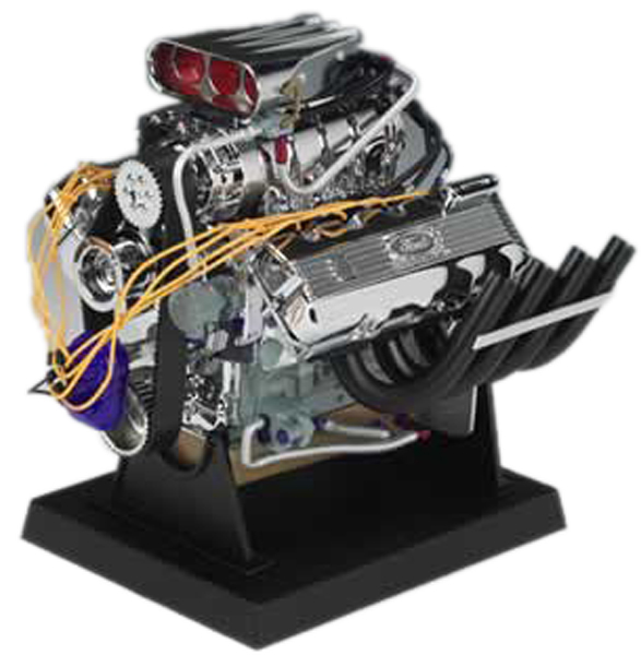 Ford Top Fuel Dragster Die-Cast Engine