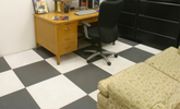 G-Floor RaceDay Levant Smooth Surface Peel and Stick Tiles