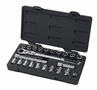 "Gearwrench� 23 Piece, 3/8"" Drive (20Mm Vortex) Fractional /Metric Xl Pass-Thru� Ratchet Set"