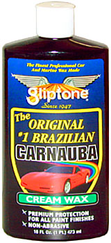 Gliptone Carnauba Cream Wax 16 oz.