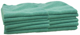 Gliptone Green Microfiber Multipurpose Towels (12 pack)