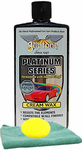 Gliptone Platinum Series Creme Wax (16 oz.), Microfiber Cloth & Foam Pad Kit
