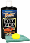 Gliptone Pro Buff Cleaner Wax (16 oz.), Microfiber Cloth & Foam Pad Kit