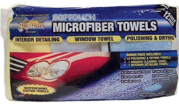 Gliptone Softouch Microfiber Towel Value Pack 12 Towels