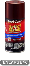 GM Metallic Dark Garnet Red Auto Spray Paint - 76 (1987-1994)